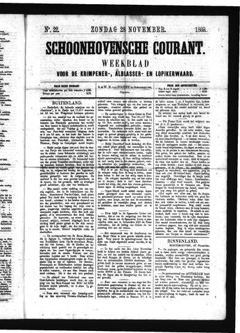 Schoonhovensche Courant 1869-11-28