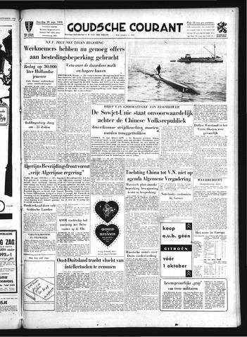 Goudsche Courant 1958-09-20