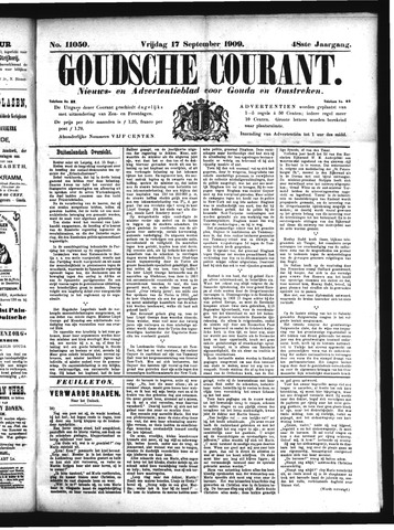 Goudsche Courant 1909-09-17