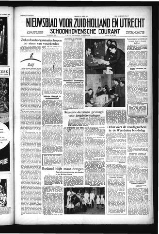 Schoonhovensche Courant 1957-04-12
