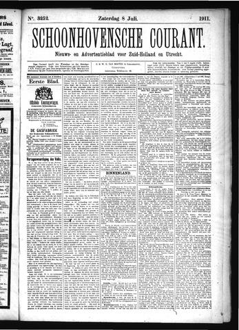 Schoonhovensche Courant 1911-07-08