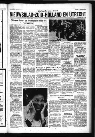 Schoonhovensche Courant 1965-09-27