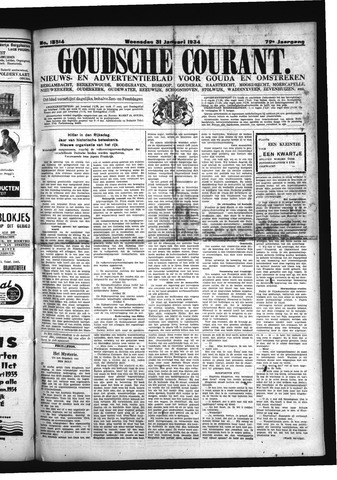 Goudsche Courant 1934-01-31