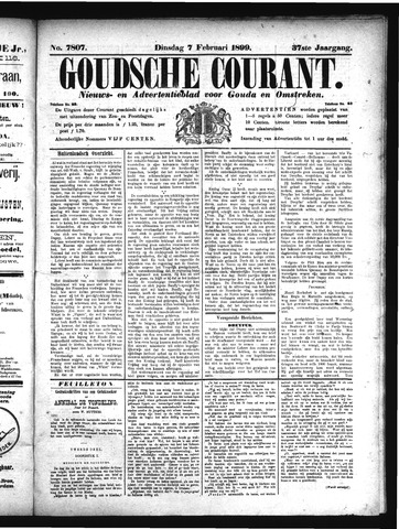 Goudsche Courant 1899-02-07