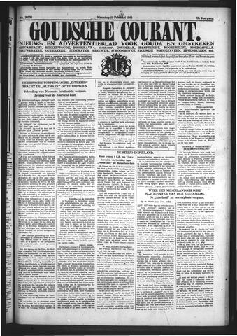 Goudsche Courant 1940-02-19