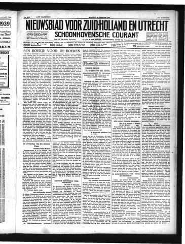 Schoonhovensche Courant 1939-02-20
