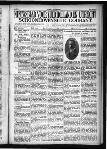 Schoonhovensche Courant 1928-02-17