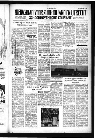 Schoonhovensche Courant 1955-03-21