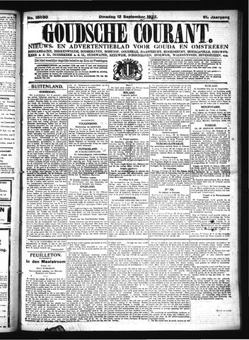 Goudsche Courant 1922-09-12
