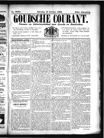 Goudsche Courant 1895-10-15