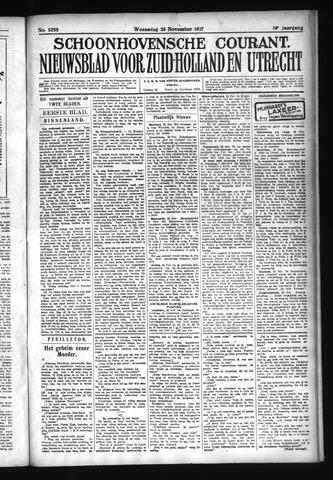 Schoonhovensche Courant 1927-11-23