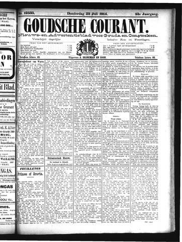 Goudsche Courant 1914-07-23