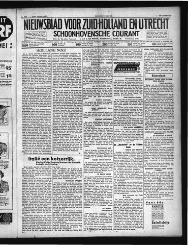 Schoonhovensche Courant 1936-05-11