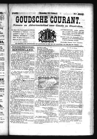 Goudsche Courant 1887-02-23