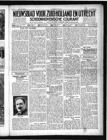 Schoonhovensche Courant 1937-06-30