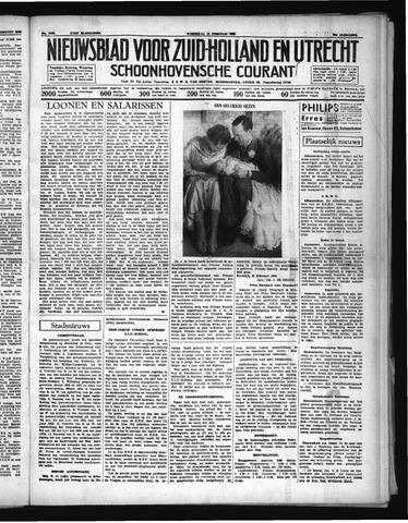 Schoonhovensche Courant 1938-02-23