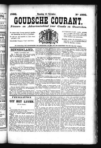 Goudsche Courant 1892-11-14