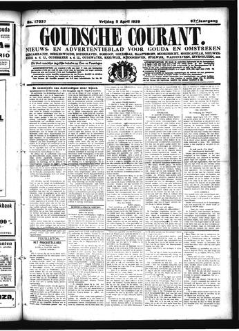 Goudsche Courant 1929-04-05