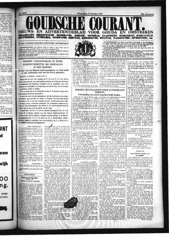 Goudsche Courant 1937-10-13