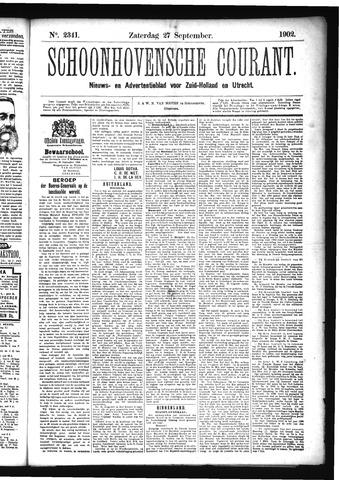 Schoonhovensche Courant 1902-09-27