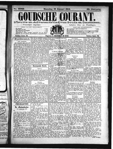 Goudsche Courant 1914-01-19