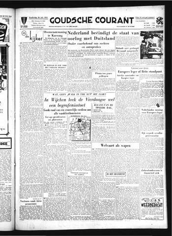 Goudsche Courant 1951-07-26