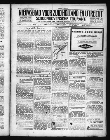 Schoonhovensche Courant 1938-07-22