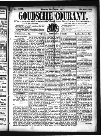 Goudsche Courant 1917-01-30