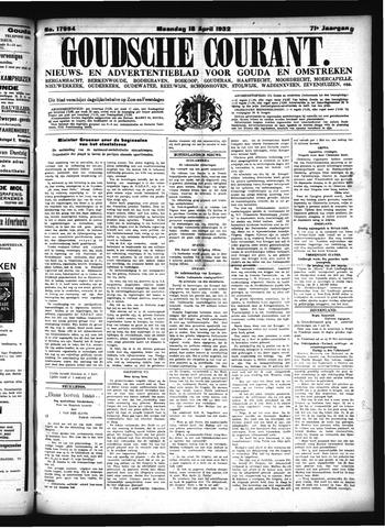 Goudsche Courant 1932-04-18