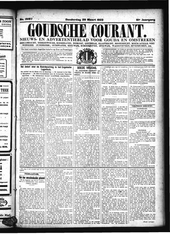 Goudsche Courant 1923-03-29