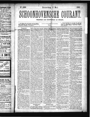 Schoonhovensche Courant 1890-05-03