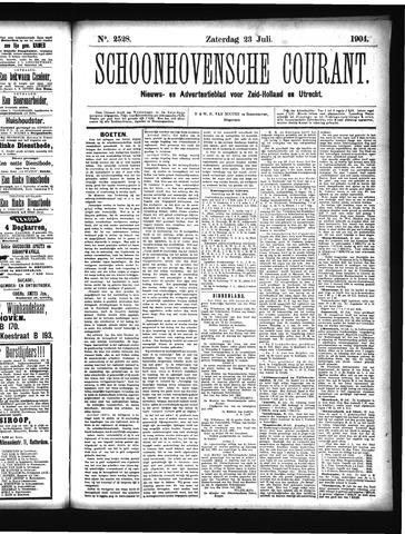 Schoonhovensche Courant 1904-07-23