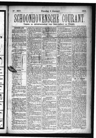 Schoonhovensche Courant 1915-01-05
