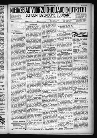 Schoonhovensche Courant 1931-08-14