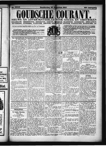 Goudsche Courant 1927-08-25