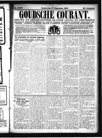 Goudsche Courant 1923-09-27
