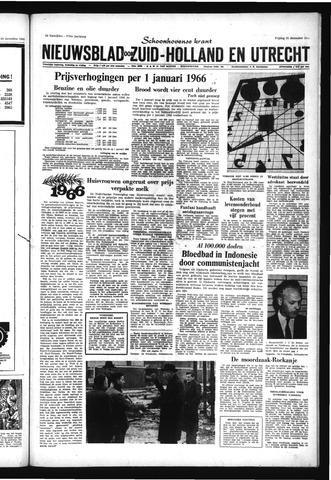 Schoonhovensche Courant 1965-12-31