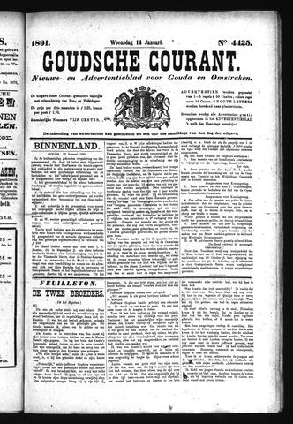 Goudsche Courant 1891-01-14