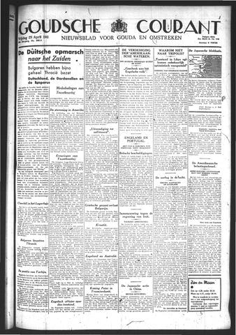 Goudsche Courant 1941-04-25