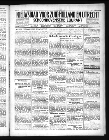 Schoonhovensche Courant 1937-03-05