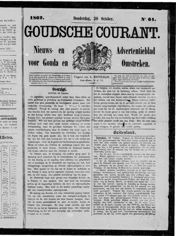 Goudsche Courant 1862-10-30