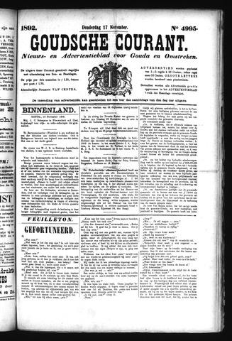 Goudsche Courant 1892-11-17