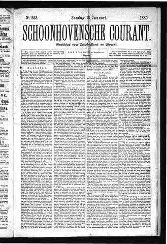 Schoonhovensche Courant 1880-01-18