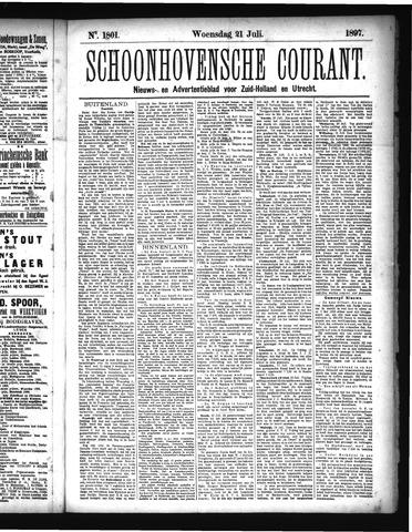 Schoonhovensche Courant 1897-07-21
