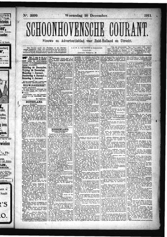 Schoonhovensche Courant 1911-12-20