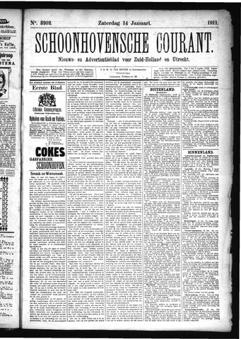 Schoonhovensche Courant 1911-01-14