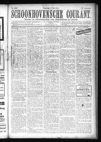 Schoonhovensche Courant 1923-05-14