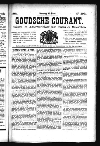 Goudsche Courant 1884-03-12