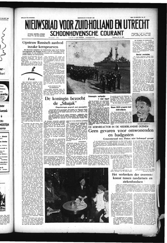 Schoonhovensche Courant 1957-03-27