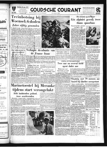 Goudsche Courant 1957-08-12